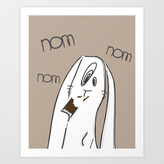 Nom, nom, nom #2 Art Print