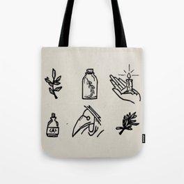 Apothecary Sketches Tote Bag