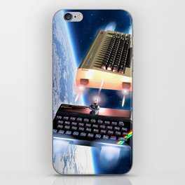 Commodore 64 vs Sinclair ZX Spectrum iPhone Skin