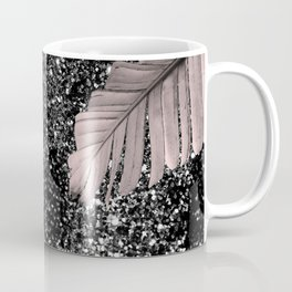 Banana Leaves Glitter Glam #4 #shiny #tropical #decor #art #society6 Coffee Mug