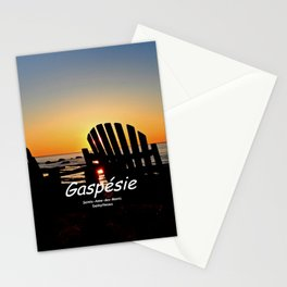 Chairs and Sunset, revisited Stationery Cards