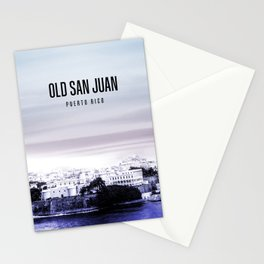 Old San Juan Wallpaper Stationery Cards
