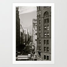 Urban Synthesis Art Print