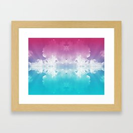 Cosmic Aerosol Framed Art Print