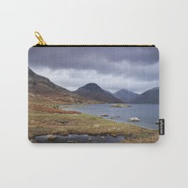 Rain clouds over Scafell and Great Gable. Wastwater, Cumbria, UK. Carry-All Pouch