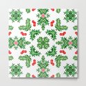 Holly Jolly Christmas Kaleidoscope (Large Pattern) by fickleandfine