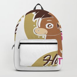 Ponies Make Me Happy You Not So Much Horse Lover Backpack