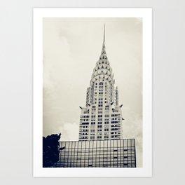 New York: Chrysler Building Art Print