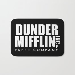 The Office Dunder Miflin Bath Mat