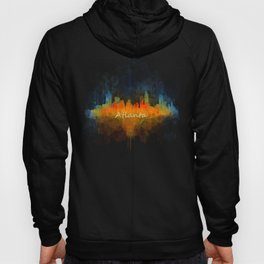 Atlanta City Skyline UHq v4 Hoody
