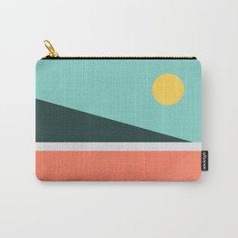 Geometric Landscape 15 Carry-All Pouch