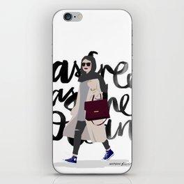 free as the ocean iPhone Skin