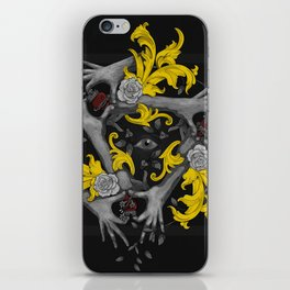 Hands and Hearts iPhone Skin