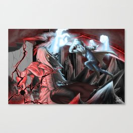 To Think We Could Have Been Allies... Canvas Print