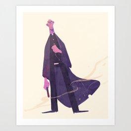 O, Preacher Art Print