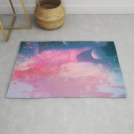 Space at Sunset Rug
