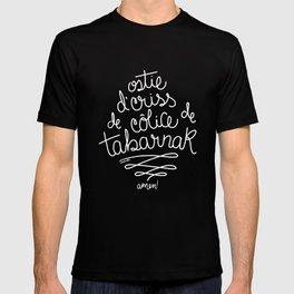 Sacres Québec - White T-shirt