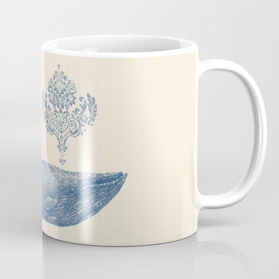 The Damask Whale  Mug