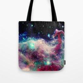 Eagle Nebula / Horsehead Nebula Deep Pastels Tote Bag