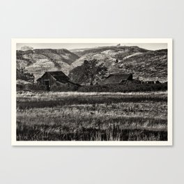 Old Barns Canvas Print