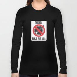 Banjo Free Zone Long Sleeve T-shirt