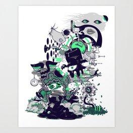 An Inevitable Twist Of Fate Art Print