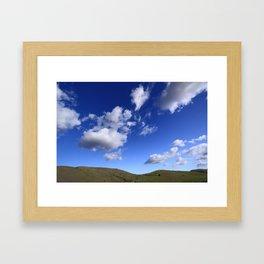 Petaluma Sky Framed Art Print