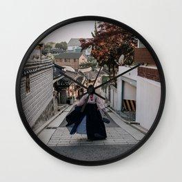 Seoul Old Village Wall Clock