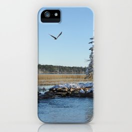 Far end of the Headwaters iPhone Case