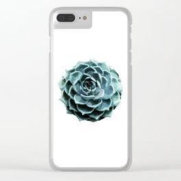 Succulent Echeveria II Clear iPhone Case