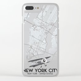 New York New York United states Clear iPhone Case
