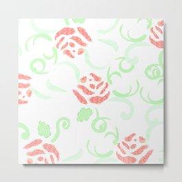zakiaz pink roses Metal Print