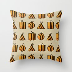 BEE DIFFERENT Throw Pillow
