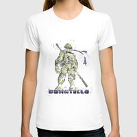 teenage mutant ninja turtles T-shirts featuring Donatello, Teenage Mutant Ninja Turtles by Carma Zoe