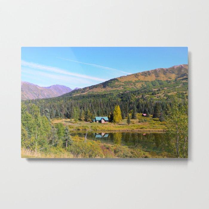 Lake Retreat - Alaska Metal Print