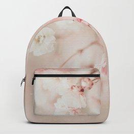 Pink Linen Gypsophila Backpack