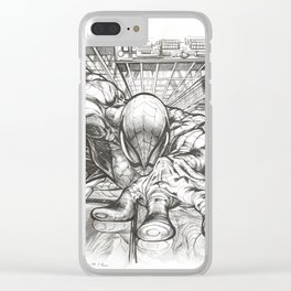 Web Slinger Clear iPhone Case