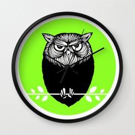 Ms. Owl Wall Clock