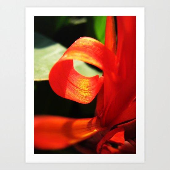 Mhm..Orange. Art Print