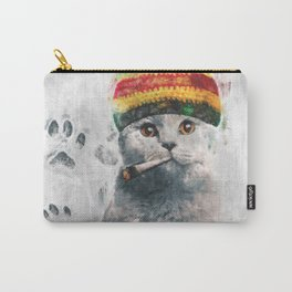 Rasta cat Carry-All Pouch