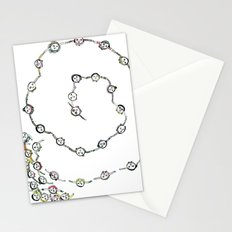 Dancing People Stationery Cards