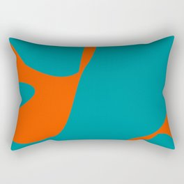 Team Alert #football #miami Rectangular Pillow