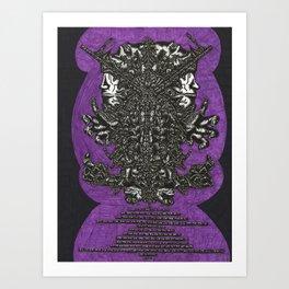 The Thriver Art Print