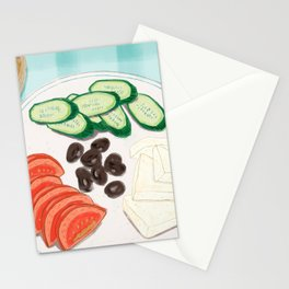 Fresh Home-cooked Turkish Breakfast Stationery Cards