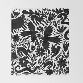 Nursery rhyme garden 001 Throw Blanket
