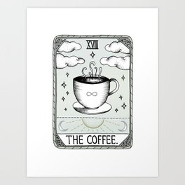 The Coffee Art Print