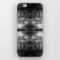 Heart Light (Black and White) iPhone & iPod Skin