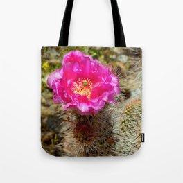Hedgehog Cactus In Bloom Tote Bag