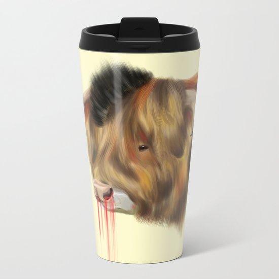 The Bull Metal Travel Mug