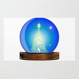 Christmas Globe Tree Rug